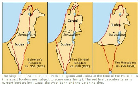 The Map History of Modern Israel
